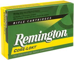 Remington Premier Ammunition R7X641, 7X64 Brenneke, Core-Lokt Pointed Soft Point, 140 GR, 2950 fps, 20 Rd/bx