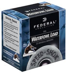 Federal Speed Shok Waterfowl WF133T, 12 Gauge, 3.5 in, 1 3/8 oz, 1550 fps, #T Steel Shot, 25 Rd/bx, Case of 10 Boxes