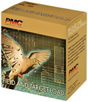 PMC Bronze Line Field and Target FT12XH, 12 Gauge, 2.75 in, 1 1/8 oz, 1250 fps, #8 Shot, 25 Rd/bx, Case of 10 Boxes