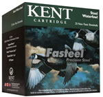 Kent Fasteel Waterfowl K1235ST404, 12 Gauge, 3.5 in, 1 3/8 oz, 1550 fps, #4 Shot, 25 Rd/bx