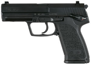 HK USP 40 Variant 1 Pistol 704001A5, 40 S&W, 4.25 in, Black Syn Grip, Black Finish, 10 + 1 Rd, DA/SA