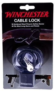 Winchester 363035 15 in Steel Cable Lock