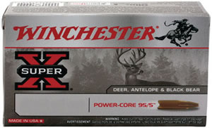 Winchester X7MMRMLF, 7mm Rem Mag, Power Core 95/5, 140 GR, 3100 fps, 20 Rd/bx