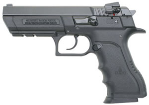 Magnum Research Baby Eagle II Pistol BE9900BL, 9 mm, 4.52 in, Black Grip, Blk Polymer Frame Finish, 10 + 1 Rd
