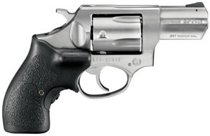Ruger Model SP101 Revolver KSP321XCT 5766, 357 Rem Mag, 2.25 in, Crimson Trace Lasergrips, Stainless Finish, 5 Rd