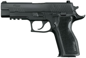 Sig Sauer P226 Enhanced Elite Pistol E26R40ESE, 40 S&W, 4.4 in, Ergo Grips, Black Finish, 12 + 1 Rd, Night Sights