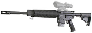 Armalite Model 15A4 Rifle 15A4CB76239, 7.62 X 39 mm, 16 in, Semi Auto, Black Syn Collap Stock, Black Finish, 10 + 1 Rd