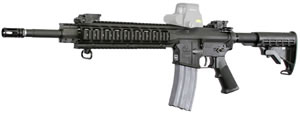 Armalite M-15 Special Purpose SPR Rifle 15SPR1CB, 223 Rem, 16 in, Semi Auto, Black Syn Collapsible Stock, Black Finish, 30 + 1 Rd, Mid