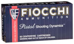 Fiocchi Centerfire Pistol Ammunition 32SWLL, 32 Smith & Wesson Long, Lead Round Nose, 97 GR, 800 fps, 50 Rd/bx