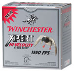 Winchester Xpert High Velocity Steel WEX123M3, 12 Gauge, 2.75 in, 1 1/16 oz, 1500 fps, #3 Steel Shot, 25 Rd/bx, Case of 10 Boxes