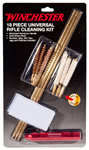 Winchester 363073 Universal Carded Rifle Cleaning Kit, 18 piece