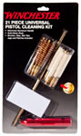 Winchester 363059 Universal Carded Pistol Cleaning Kit, 21 Piece