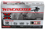 Winchester Super X Lead Free Rifled Slug S12RS15LF, 12 Gauge, 2.75 in, 3/4 oz, 1450 fps, 5 Rd/bx