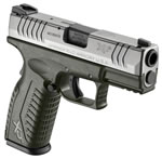 Springfield XDM 3.8 Pistol XDM9389GSHC, 9 mm, 3.8 in, OD Green Syn Grip, Olive Drab/Stainless Finish, 19 + 1 Rd