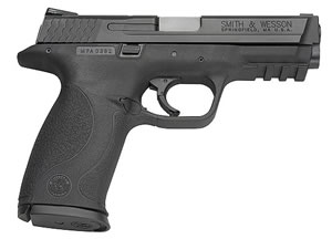 Smith & Wesson Model M&P 40 Semi Auto Pistol 209200, 40 S&W, 4 1/4 in, Syn Grip, Black Finish, 15 + 1 Rd, Mag Safety