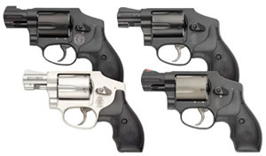 Smith & Wesson Model 340 Airlite Personal Defense Revolver 103061, 357 Mag/38 S&W Special +P, 1 7/8 in, Syn Grip, Mt Black Finish, 5 Rd