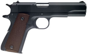 Browning Model 1911-22 A1 Pistol 051802490, 22 LR, 4.25 in, Brown Chkd Plastic Grip, Mt Blue Finish, 10 + 1 Rd
