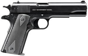 Umarex Colt 1911 Pistol 2245710, 22 LR, 5 in, Black Finish, 10 + 1 Rd