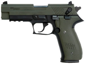 Sig Sauer Mosquito Pistol MOS22OD, 22 LR, 3.9 in, OD Green Grip, OD Green Finish, 10 + 1 Rd