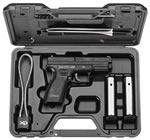 Springfield Model XD Essential Package Pistol XD9102, 40 S&W, 4 in, Polymer Grip, Black Finish, 10 + 1 Rd, CA Appr
