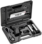 Springfield Model XD Sub-Compact Essential Package Pistol XD9802HC, 40 S&W, 3 in, Polymer Grip, Matte Black Finish, 9 + 1 /12 + 1 Rd, Grip Ext