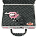 Charter Arms Chic Lady Revolver 53839, 38 Special, 2 in, Black Syn Grip, Pink Alum / Stainless Finish, 5 Rd
