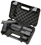 Smith & Wesson Model M&P 40 Pistol Carry and Range Kit 139350, 40 S&W, 4.25 in, Palmswell Grip, Black Melonite Finish, 10 + 1 Rd, MA Compliant