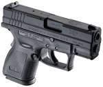 Springfield Model XD Sub-Compact Essential Package Pistol XD9802, 40 S&W, 3 in, Black Grip, Black Finish, 10 + 1 Rd, CA Appr