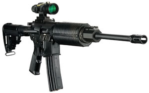 DPMS Panther Oracle Rifle RFA3OC, 223 Rem, 16 in, Semi-Auto, Collapsible Stock, Black Finish, 30 + 1 Rd, Only 1 In Stock!
