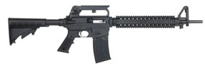 Mossberg AR-15 Style 22 Tactical Rifle 37204, 22 LR, 18 in, Semi-Auto, Adj Buttstock, Black Finish, 25+1 Rd