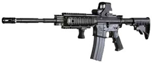 Armalite SPR Mod 1 Rifle 15SPR1LB, 223 Rem/5.56 Nato, 16 in, Semi-Auto, Adjustable Telestock, Black Finish, 30 + 1 Rd