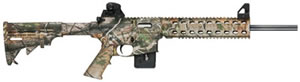 Smith & Wesson M&P 1522 Rifle 811047, 22 LR, 16 in, Semi-Auto, Telestyle (Fixed) Stock, Realtree APG/Black Finish, 10 + 1 Rd