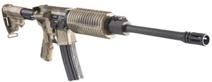 DPMS Panther Oracle Rifle RFA30CATCS, 223 Rem, 16 in, Semi Auto, Collapsible Stock, ATAC Camo Finish, 30 + 1 Rds