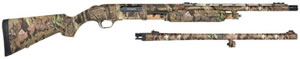 Mossberg Model 535 ATS Combo Shotgun 45213, 12 Gauge, 22 in VR & 24 in Rifled w/Sights, 3.5 in Chmbr, MOBU Infinity, Fib Opt Sights