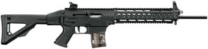 Sig Sauer Model 522 SCM Rifle R22SCMN18BCS10M, 22 Long Rifle, 18 in, Semi Auto, Fixed Stock, Black Finish, 10 + 1 Rds, Rail