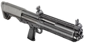 Kel Tec BullPup Shotgun KSG, 12 GA, 18.5 in, 2.75 in Chmbr, Pump Action, Black Syn Stock, Black Finish