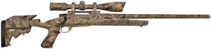 Howa Axiom Rifle HWK97102P, .308 Winchester, 24 in, Bolt Action, Desert Camo Stock, Camo Finish, 1 Rds, w/Scope Pkg