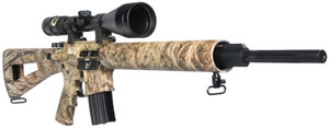 DPMS Prairie Panther Rifle RFA3PPB, 223 Rem, 20 in, Semi Auto, Mossy Oak Brush Camo, 20 + 1 Rds