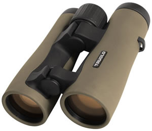 TruGlo Tru Brite Open Bridge Binoculars TG90842G, 8x, 42 mm, Bak 4 Roof Prism, Green