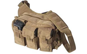 5.11 Tactical Bail Out Bag Flat Dark Earth Soft 8.5x12x4.5 56026