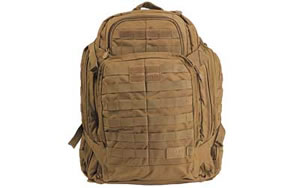 5.11 Tactical Rush 72 Backpack Flat Dark Earth Soft 23x15x8 58602
