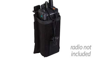 5.11 Tactical 58718 SlickStick System Radio Pouch Black Soft