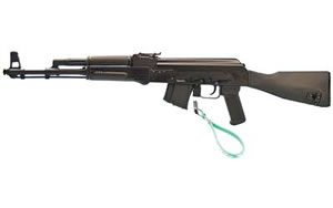 Arsenal SAM7 Rifle SAM720, 7.62 x 39mm, 16 in, Black Polymer Stock, Blk Finish, Adj Sights, 10 Rd, Hamm Forged, CA Approved