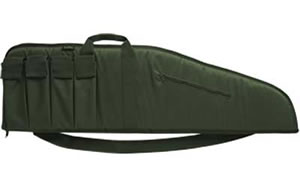 Bulldog BD442 Assault Extreme Tactical Rifle Case OD Green Soft 35 in