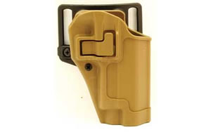Blackhawk 410506CTR CQC SERPA Belt Holster Right Hand Coyote Tan Sig Sauer 220/226 Belt Loop and Paddle