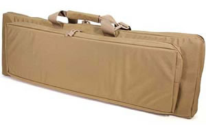 Blackhawk 65DC35DE Discreet Homeland Security Rifle Case Coyote Tan Soft 35 in