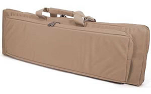 Blackhawk 65DC40DE Discreet Homeland Security Rifle Case Coyote Tan Soft 40 in