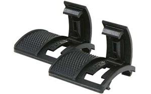 Blackhawk 71RP02BK 2 Pack Rail Cover Black Locking Picatinny 2 Panel