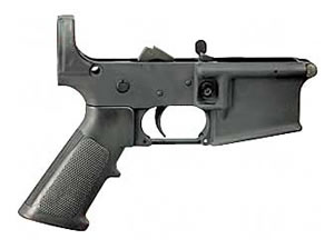 Bushmaster Semi Auto Lower 223 Rem Black w/out Buttstock