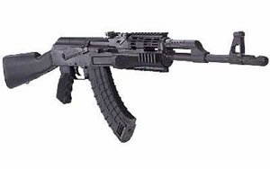 Century Arms Centurion 39 Rifle RI1622N, 7.62 X 39, 16 in, Syn Stock, Black Finish, Adj Sights, 30 Rd, 4 Rail Handguard